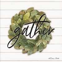 Gather Wreath Fine Art Print