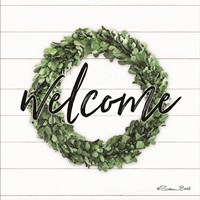 Welcome Wreath Fine Art Print