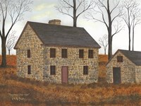 Pennsylvania Stone House Fine Art Print