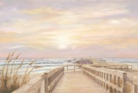 Ponce Inlet Jetty Sunrise Fine Art Print
