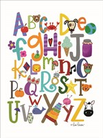 Colorful Alphabet Fine Art Print