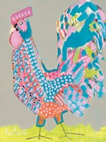 Ralph the Rooster Fine Art Print