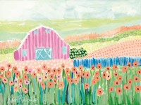 Strolling the Farm Fine Art Print