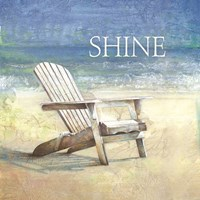 Coastal Shine Framed Print