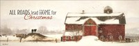 All Roads Lead Home for Christmas Fine Art Print