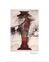 Model of a Crystal Vase Fine Art Print