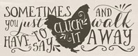 Cluck It Fine Art Print