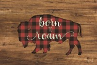 Born to Roam Bison Fine Art Print