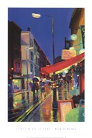 Friday Night In Soho Fine Art Print