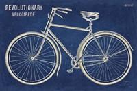 Blueprint Bicycle Fine Art Print