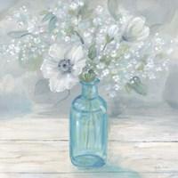 Vintage Jar Bouquet II Fine Art Print
