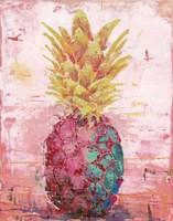 Painted Pineapple I Fine Art Print