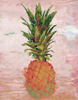 Painted Pineapple II Framed Print