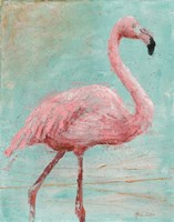 Pink Flamingo I Fine Art Print