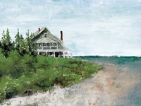 Beach Cottage Life Fine Art Print