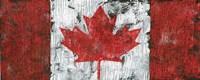 Canada Maple Leaf Landscape Fine Art Print