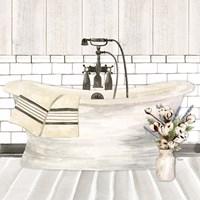 Farmhouse Bath I Tub Fine Art Print