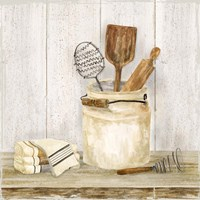 Vintage Kitchen I Fine Art Print