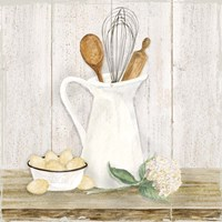Vintage Kitchen II Fine Art Print