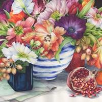 Vibrant Bouquet Still Life Fine Art Print