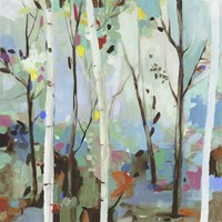 Birchwood Forest Fine Art Print