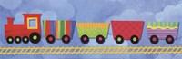 Rainbow Train Fine Art Print