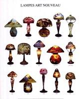 """Lampes Art Nouveau by Atelier Nouvelles Images - 16"""" x 20"""""""