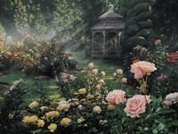 Rose Garden - Paradise Found Fine Art Print