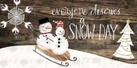 Snow Day Fine Art Print