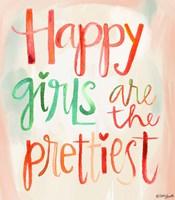 Happy Girls Fine Art Print