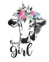 Hay Girl Fine Art Print