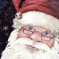Santa Selfie Fine Art Print