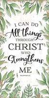 I Can Do All Things Through Christ Fine Art Print