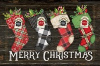 Merry Stockings Fine Art Print