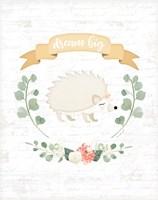 Sweet Little Hedgehog Fine Art Print