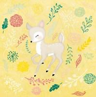 Woodland Deer Fine Art Print