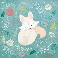 Woodland Fox Fine Art Print