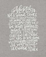 Adoption Fine Art Print