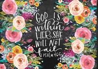 God Is Fine Art Print