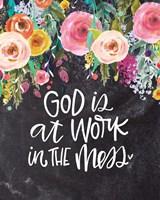 God is at Work Fine Art Print