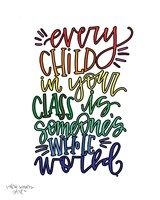 Every Child Colorful Fine Art Print
