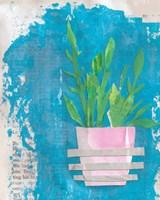 Striped Pot Fine Art Print