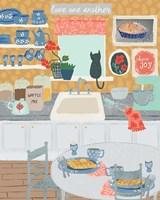 Grandma's Kitchen Fine Art Print