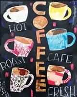Coffee Collage Fine Art Print