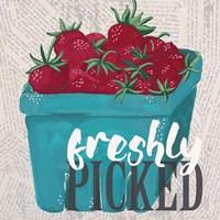 Strawberry Season Fine Art Print