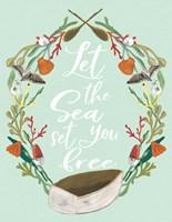 She Loved the Sea Fine Art Print