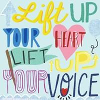 Lift Up Your Voice Fine Art Print