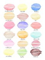 Macaron Flavors Fine Art Print