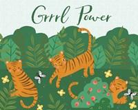 Grrrl Power Fine Art Print