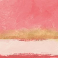 Coral and Abstract I Fine Art Print